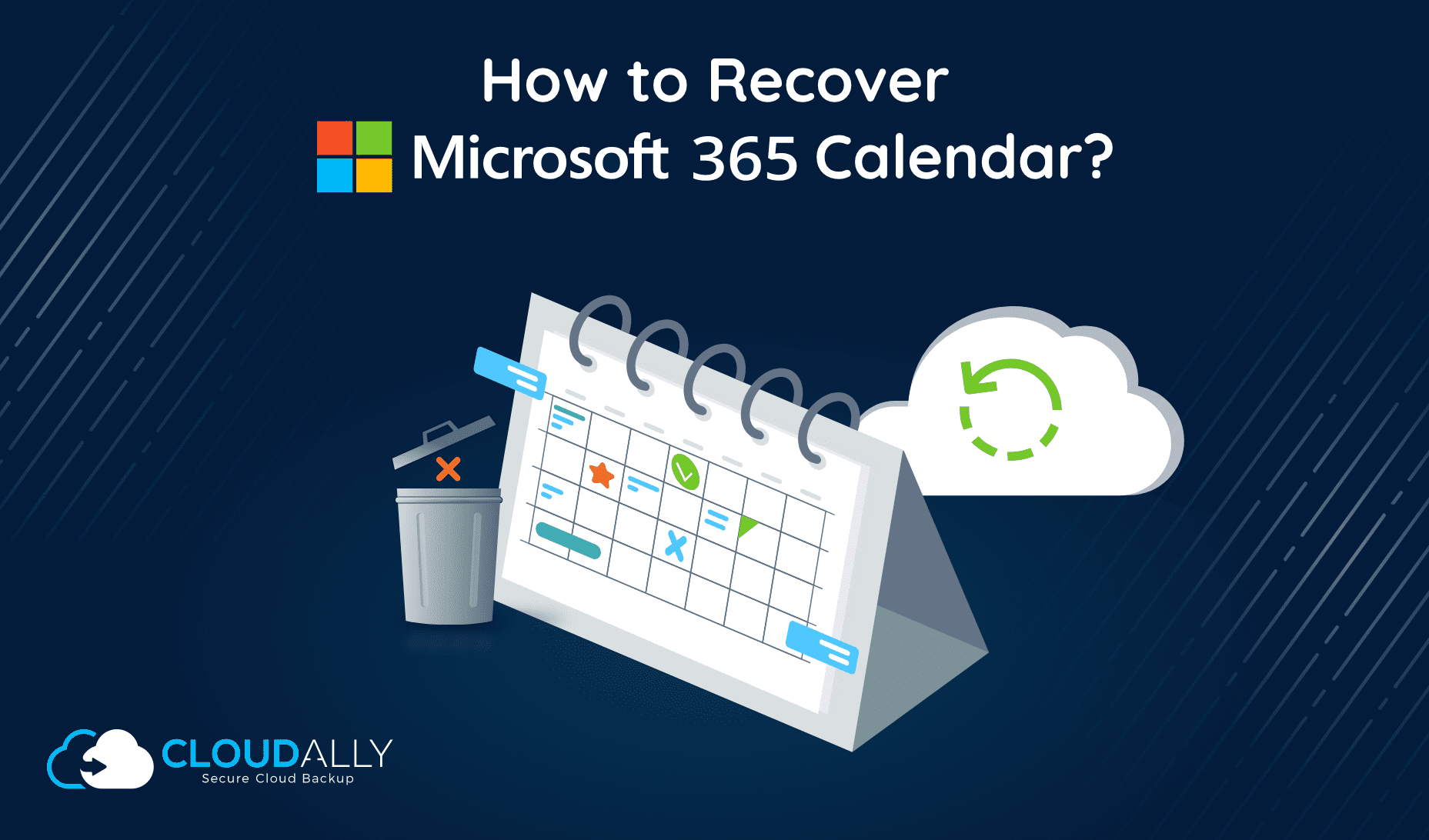 Backup and Recover Microsoft Outlook Calendar